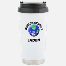 World's Okayest Jaden Travel Mug