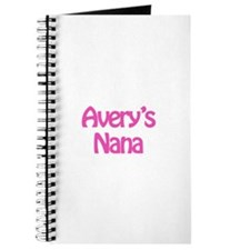 Avery's Nana Journal