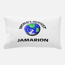 World's Okayest Jamarion Pillow Case