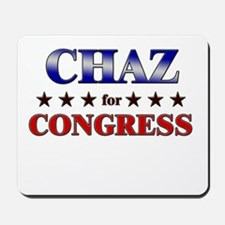 CHAZ for congress Mousepad