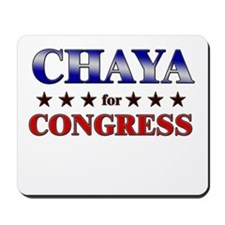 CHAYA for congress Mousepad