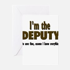 I'm the Deputy Greeting Cards (Pk of 10)