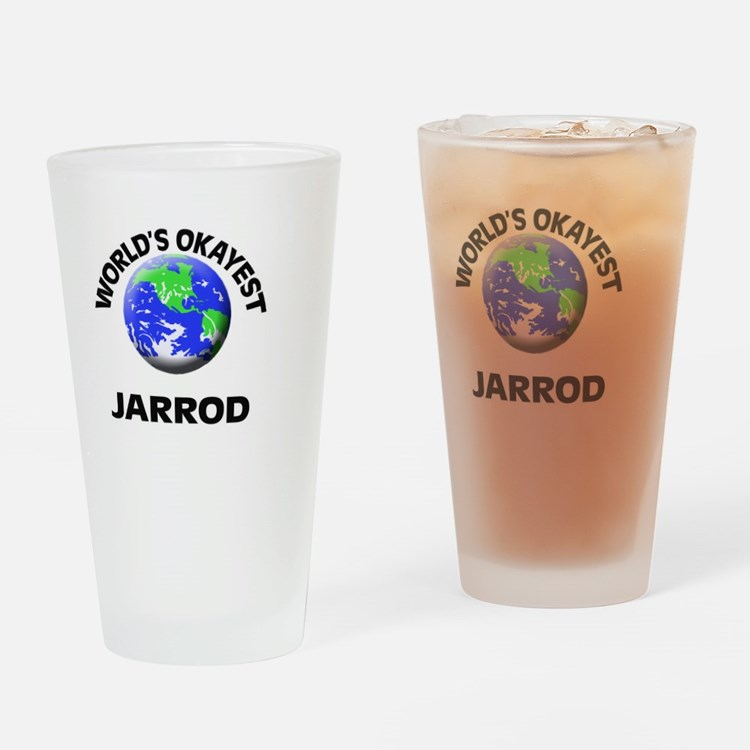World's Okayest Jarrod Drinking Glass