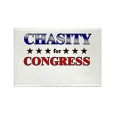 CHASITY for congress Rectangle Magnet