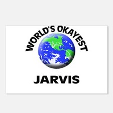 World's Okayest Jarvis Postcards (Package of 8)