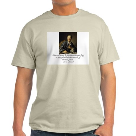 Diderot Quote Light T-Shirt