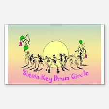 Siesta Key Drum Circle Decal