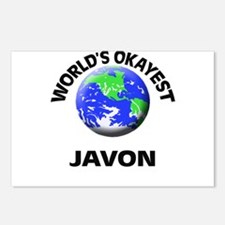 World's Okayest Javon Postcards (Package of 8)