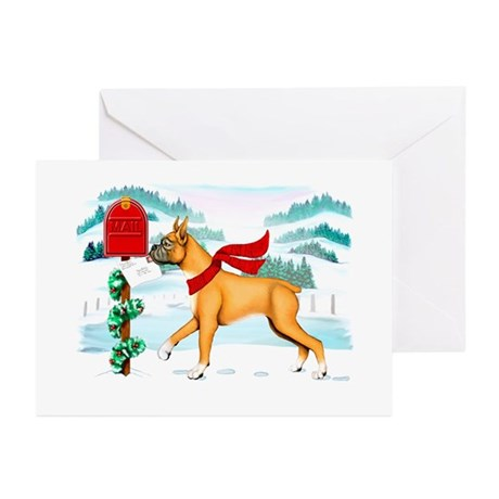 Boxer Mail Greeting Cards (Pk of 20)
