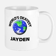 World's Okayest Jayden Mugs