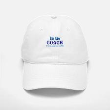 I'm the Coach -Blue Baseball Baseball Cap