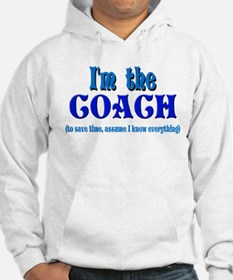 I'm the Coach -Blue Hoodie