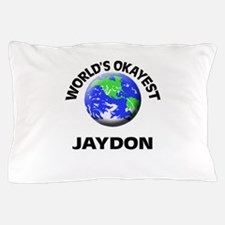 World's Okayest Jaydon Pillow Case