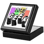 Cool Colors Total Geek Keepsake Box