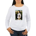 Mona's Old English Sheepdog Women's Long Sleeve T-