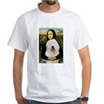 Mona's Old English Sheepdog White T-Shirt