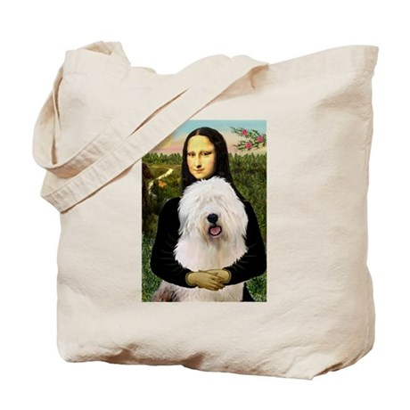 Mona's Old English Sheepdog Tote Bag