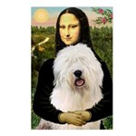 Mona's Old English Sheepdog Postcards (Package of