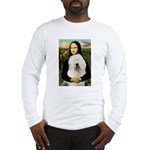 Mona's Old English Sheepdog Long Sleeve T-Shirt