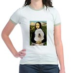 Mona's Old English Sheepdog Jr. Ringer T-Shirt