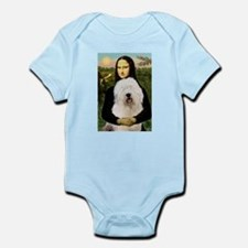Mona's Old English Sheepdog Infant Bodysuit