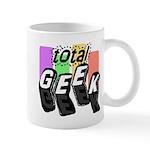 Cool Colors Total Geek Mug