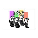 Cool Colors Total Geek Mini Poster Print