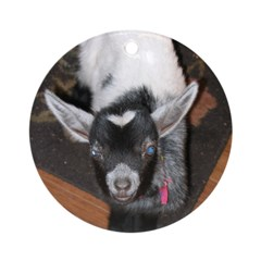 Baby Goat Ornament (Round)