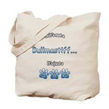 Bullmastiff Not Tote Bag