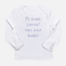 4-3-my daddy Long Sleeve T-Shirt
