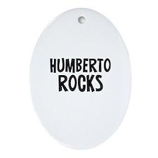 Humberto Rocks Oval Ornament