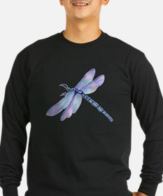 DragonflyTransparent2 Long Sleeve T-Shirt