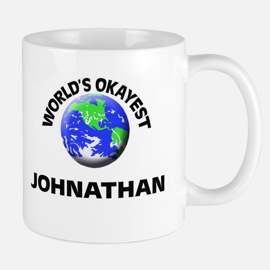 World's Okayest Johnathan Mugs