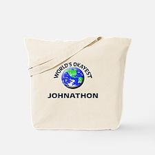 World's Okayest Johnathon Tote Bag