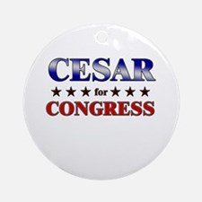 CESAR for congress Ornament (Round)