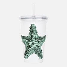 Vintage Starfish Acrylic Double-wall Tumbler