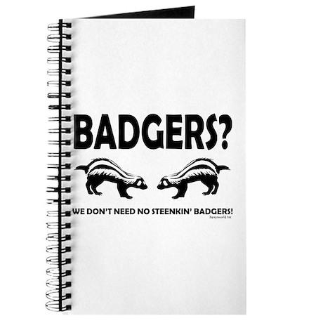 Steenkin' Badgers Journal