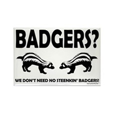 Steenkin' Badgers Rectangle Magnet (10 pack)