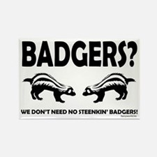 Steenkin' Badgers Rectangle Magnet (10 pack)