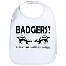 Steenkin' Badgers Bib