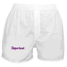 Funny Zipper Boxer Shorts