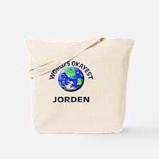 World's Okayest Jorden Tote Bag