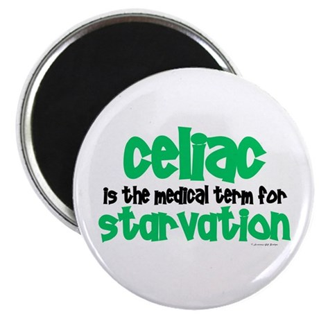 "Celiac: Starvation 1 2.25"" Magnet (100 pack)"