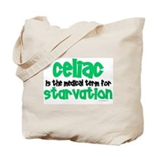 Celiac: Starvation 1 Tote Bag