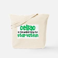 Celiac: Starvation 1 Tote Bag