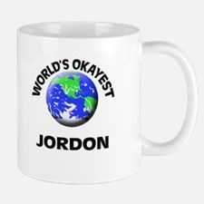 World's Okayest Jordon Mugs