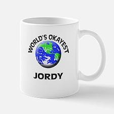 World's Okayest Jordy Mugs