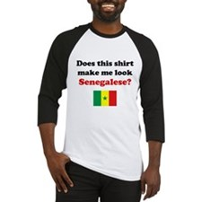 Make Me Look Senegalese Baseball Jersey
