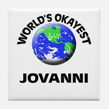 World's Okayest Jovanni Tile Coaster