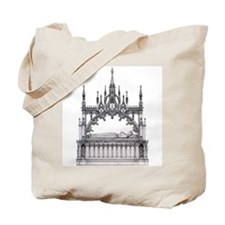 gothic tomb Tote Bag